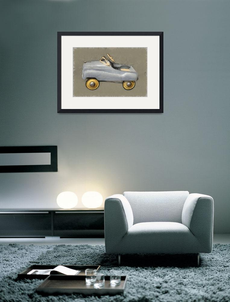 """Antique Pedal Car ll&quot  (2012) by Michelle1991"