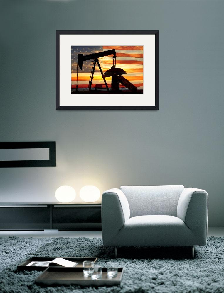 """American Oil&quot  (2013) by lightningman"