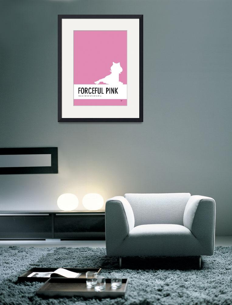 """No26 My Minimal Color Code poster Piggy&quot  by Chungkong"