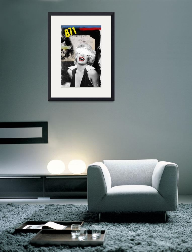"""Public Figures Collection - Marilyn&quot  (2011) by elodesigner"