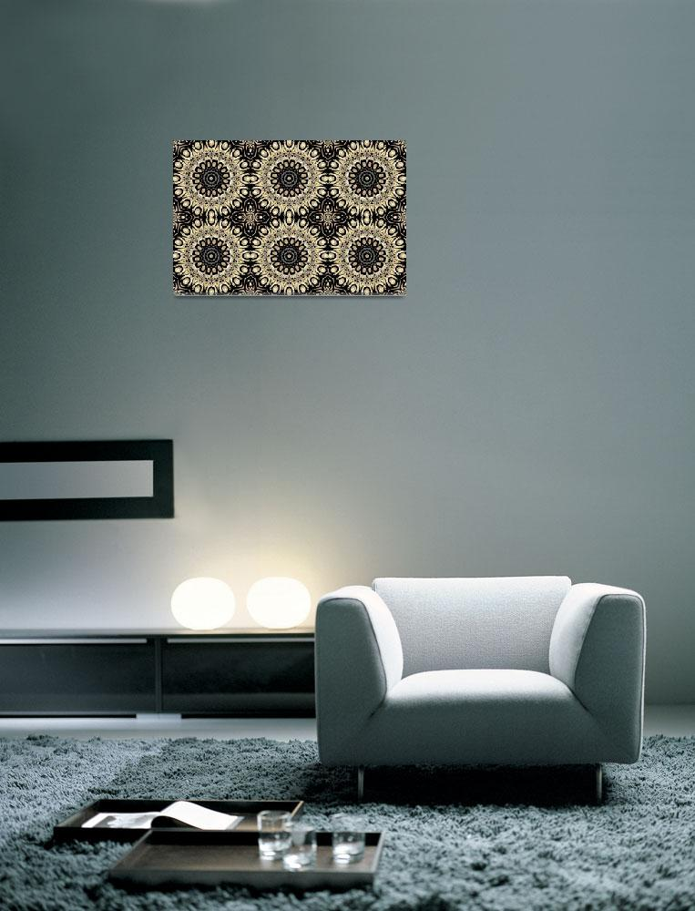 """Art ZIZZAGO Pearl Collection BIG18-tile&quot  by shanmaree"