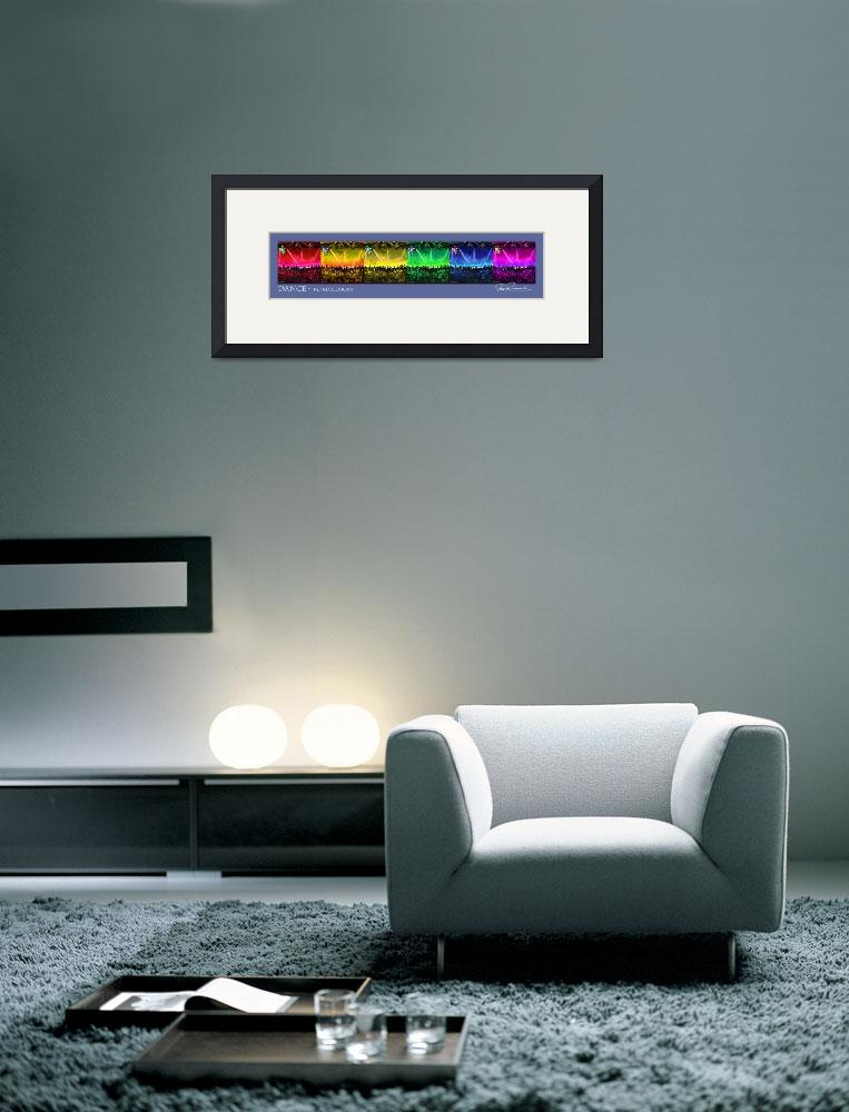 """Dance by RD Riccoboni - Framed poster&quot  by RDRiccoboni"