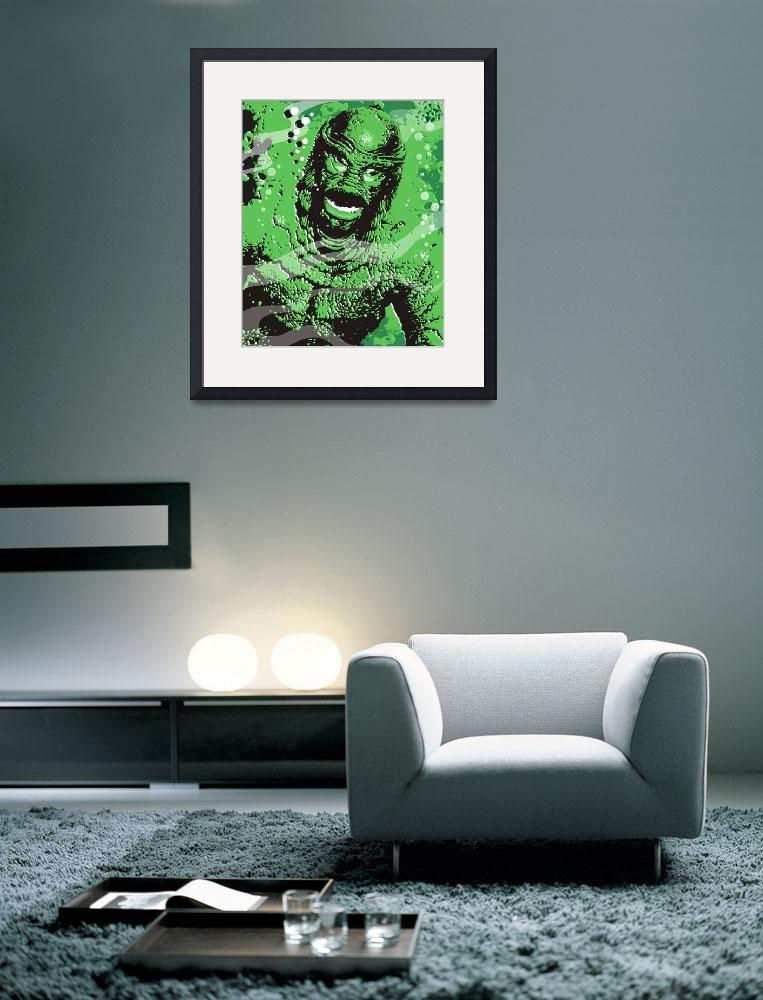 """creature from the black lagoon&quot  (2009) by EARLFERGUSON"