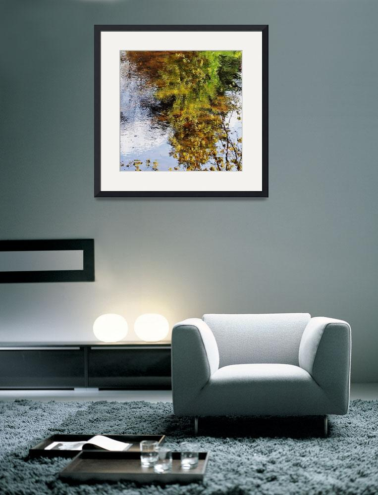 """Dean Pond Reflections&quot  (2012) by bavosiphotoart"