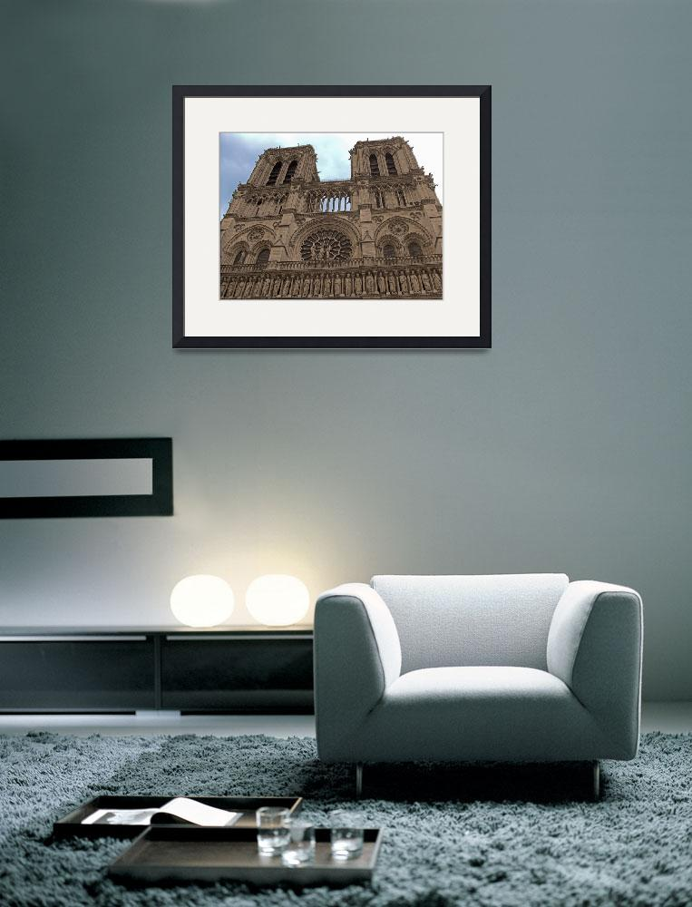 """Notre-Dame Cathedral&quot  (2009) by Markomarko"