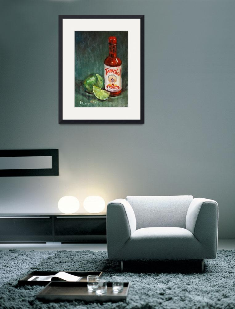 """Tapatio Hot Sauce&quot  (2008) by maryanncleary"