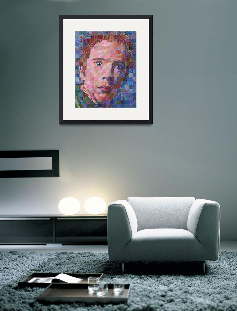 """Johnny Rotten&quot  (2013) by RandalHuiskens"