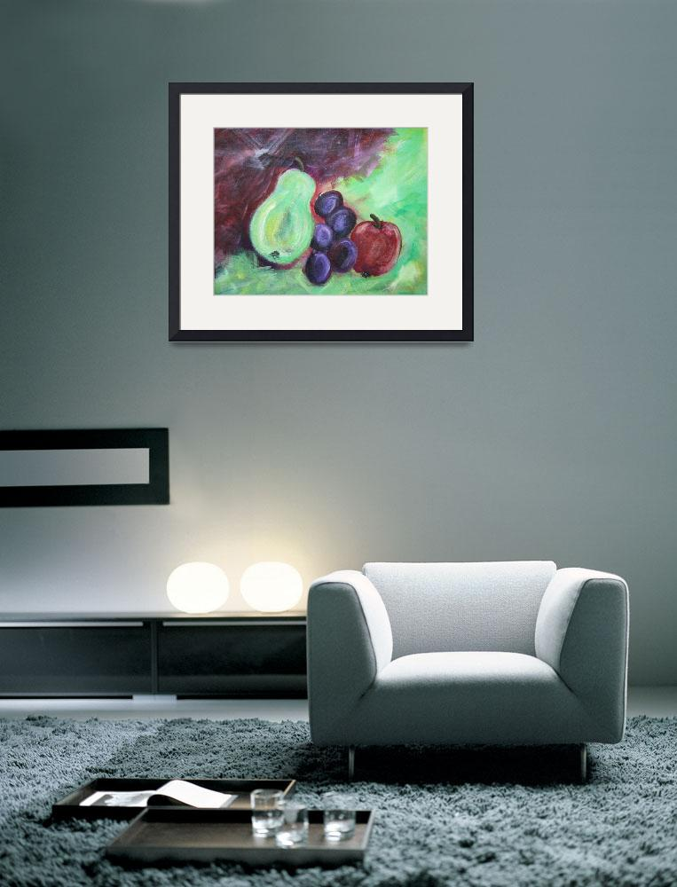 """Fruit Abstract&quot  (2012) by watersedge"