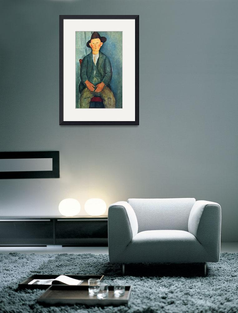 """Amedeo Clemente Modigliani Painting 81&quot  by ArtLoversOnline"