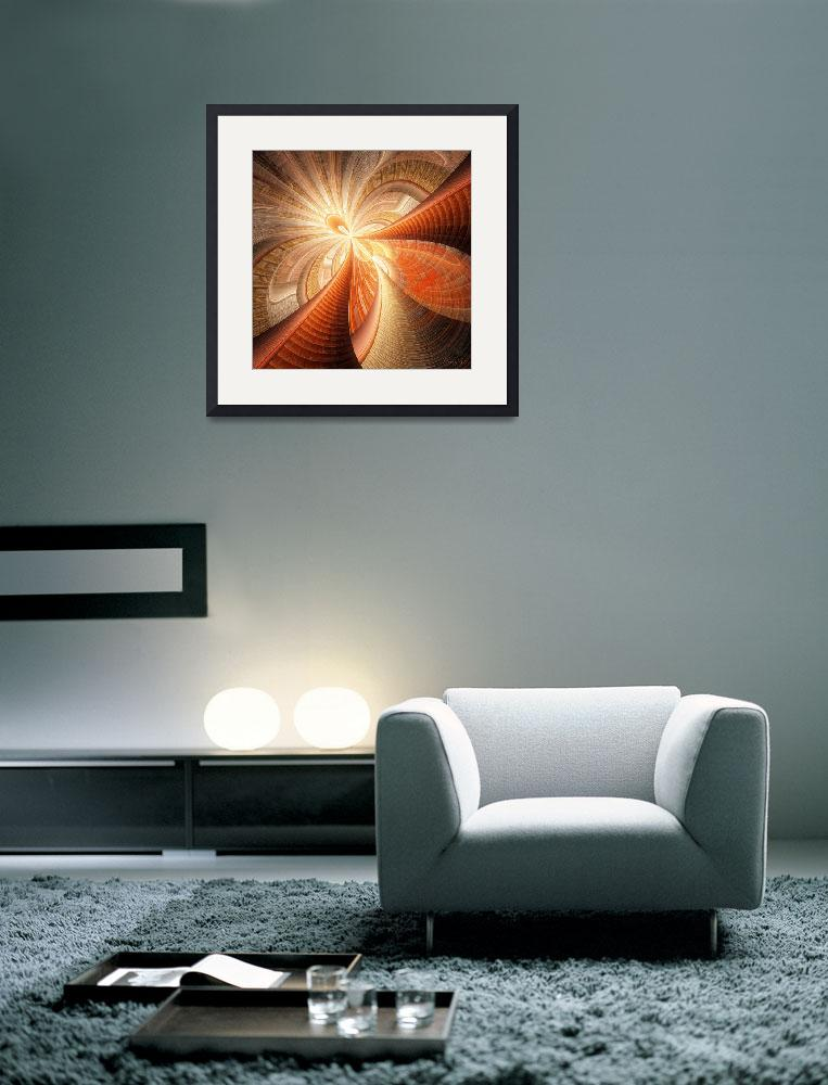 """Flower of Light&quot  (2008) by AnneVis"