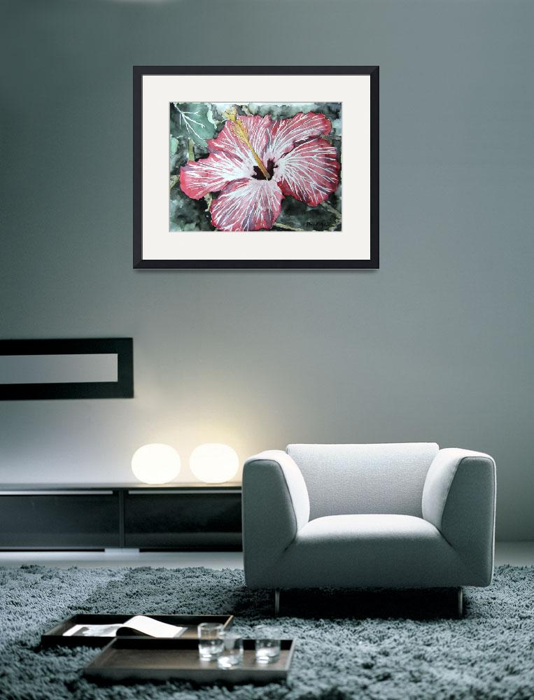 """hibiscus_flower&quot  (2007) by derekmccrea"