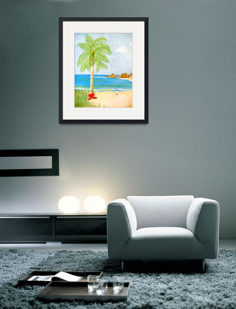 """Tranquil Palm&quot  (2010) by christinesachs"