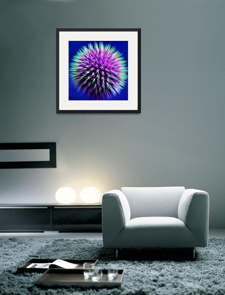 """Echinops&quot  (2008) by Reflections"