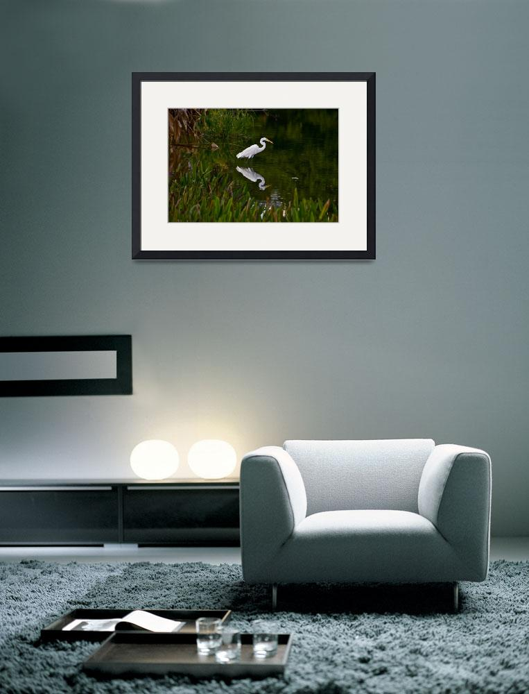 """Egret in the Evening&quot  (2009) by beautysuspended"