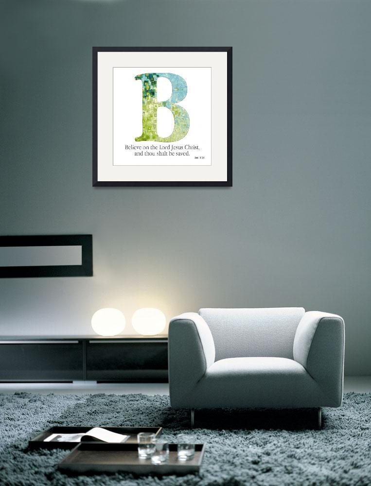 """B, the Christian Alphabet&quot  (2007) by MarkLawrence"