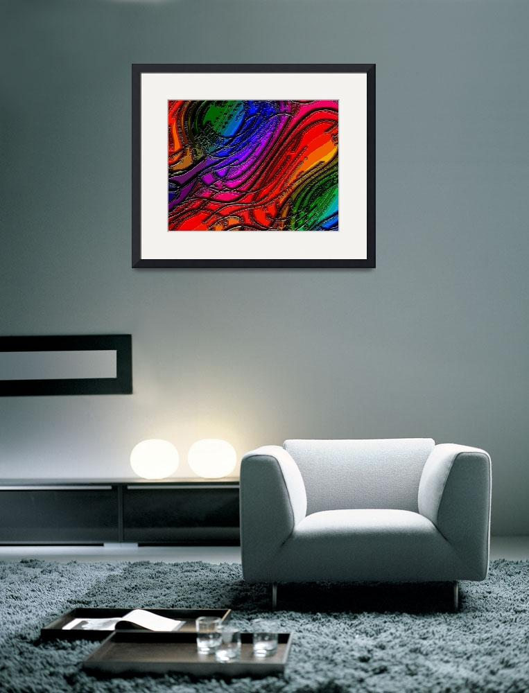 """Abstract Rainbows 43 EC&quot  (2012) by TheNorthernTerritory"