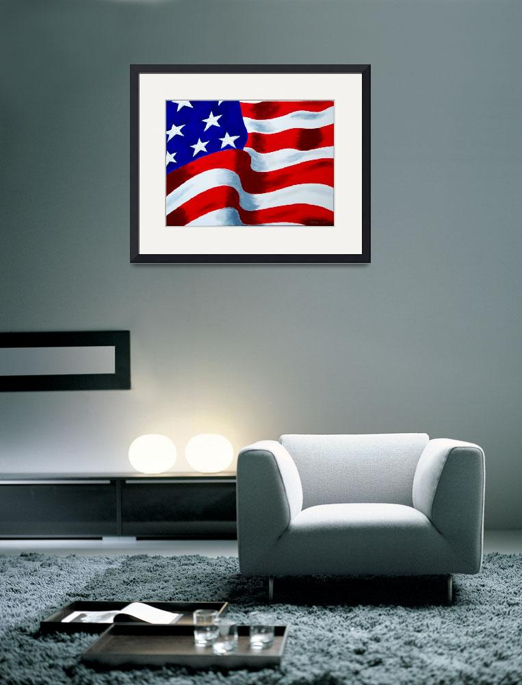 """Flag of USA&quot  (2009) by galina"