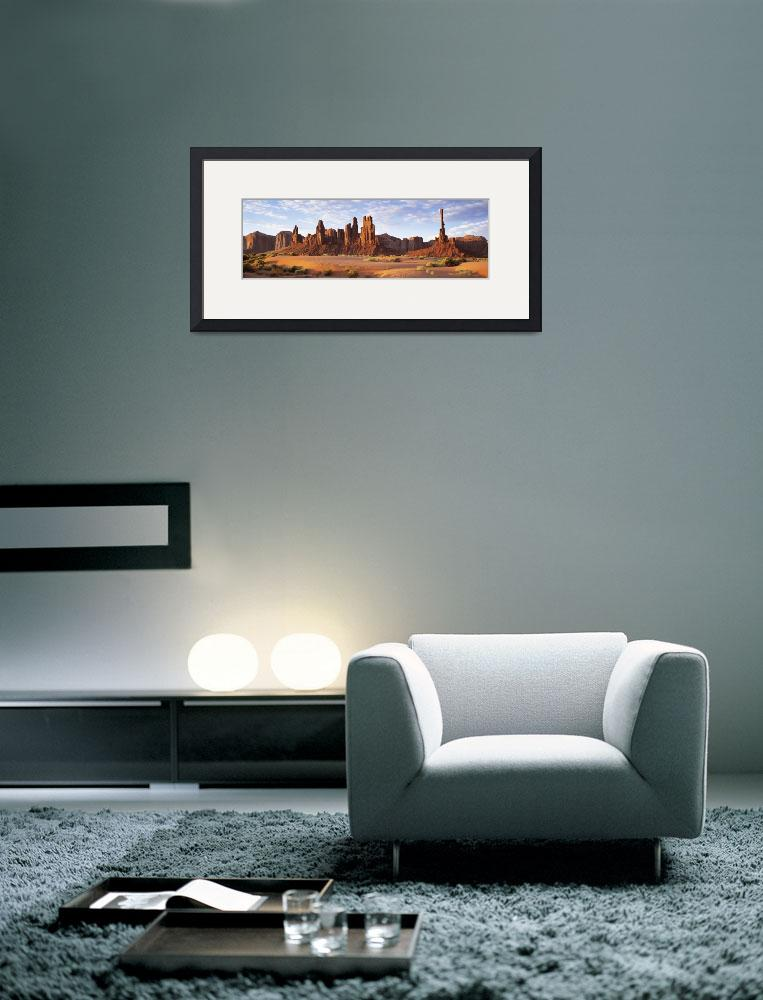 """Monument Valley AZ&quot  by Panoramic_Images"
