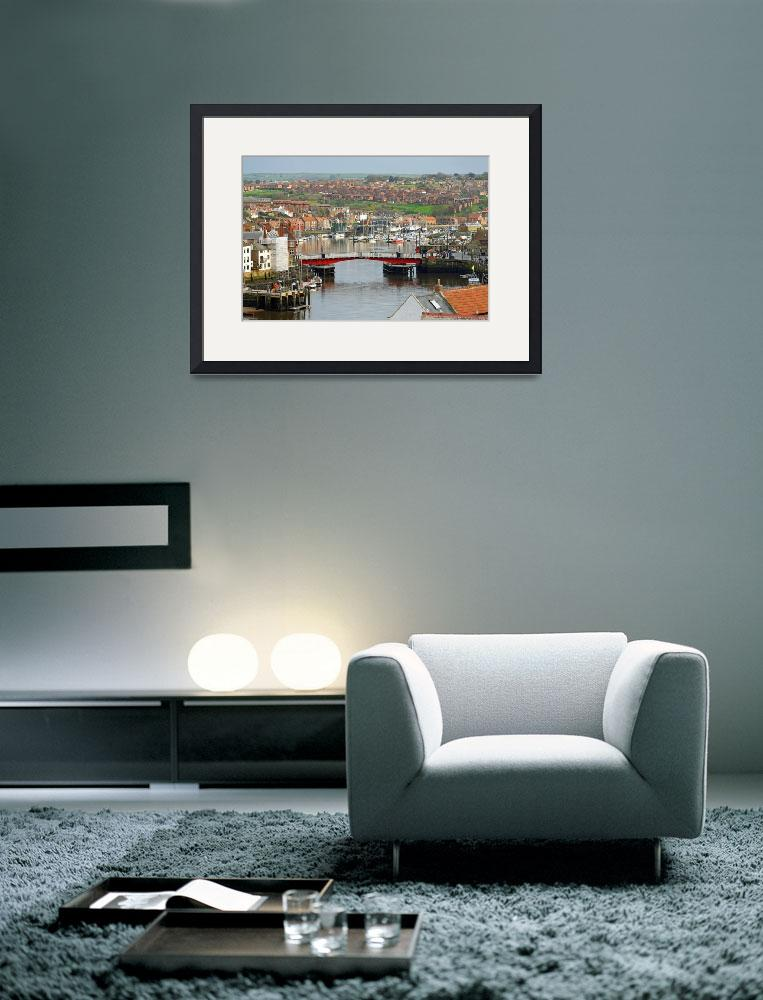 """Harbour View, Whitby&quot  (2014) by rodjohnson"