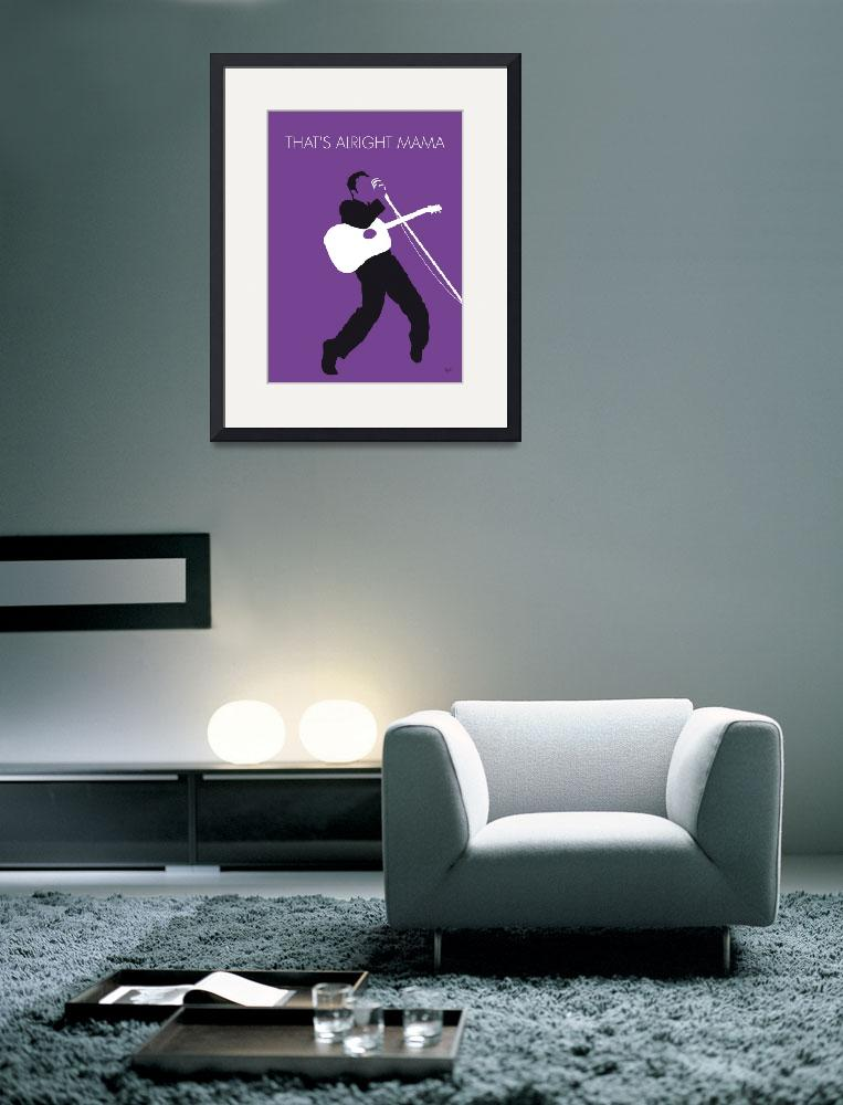 """No021 MY ELVIS Minimal Music poster&quot  by Chungkong"