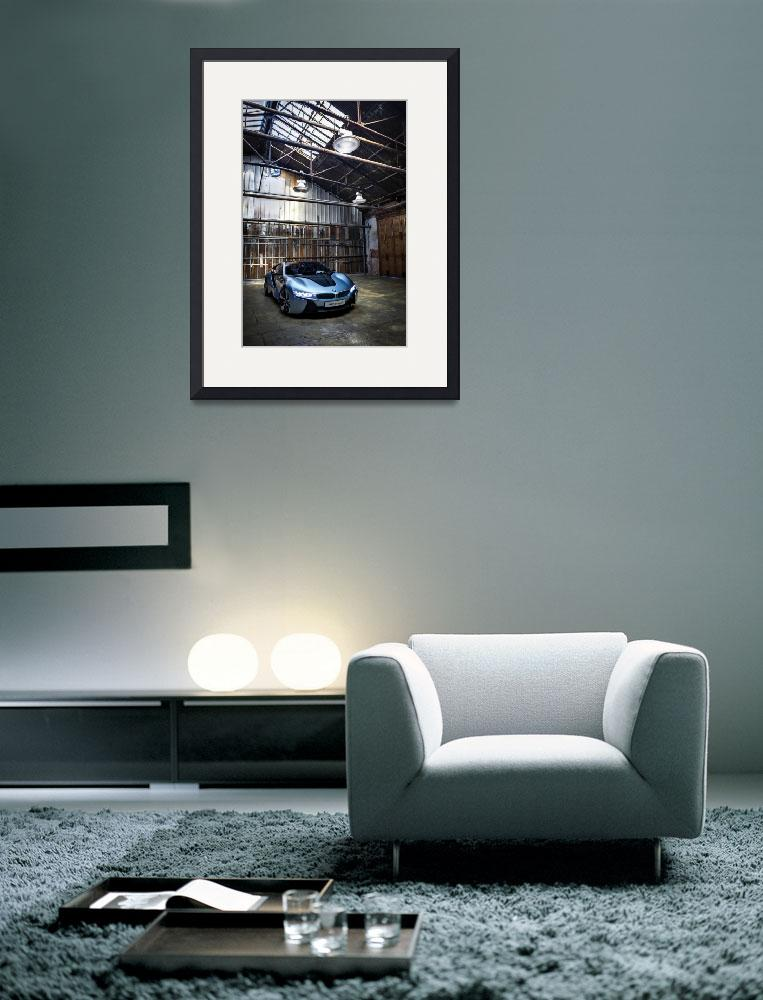 """BMW i8 Concept Vertical 2012&quot  by roadandtrackphotos"