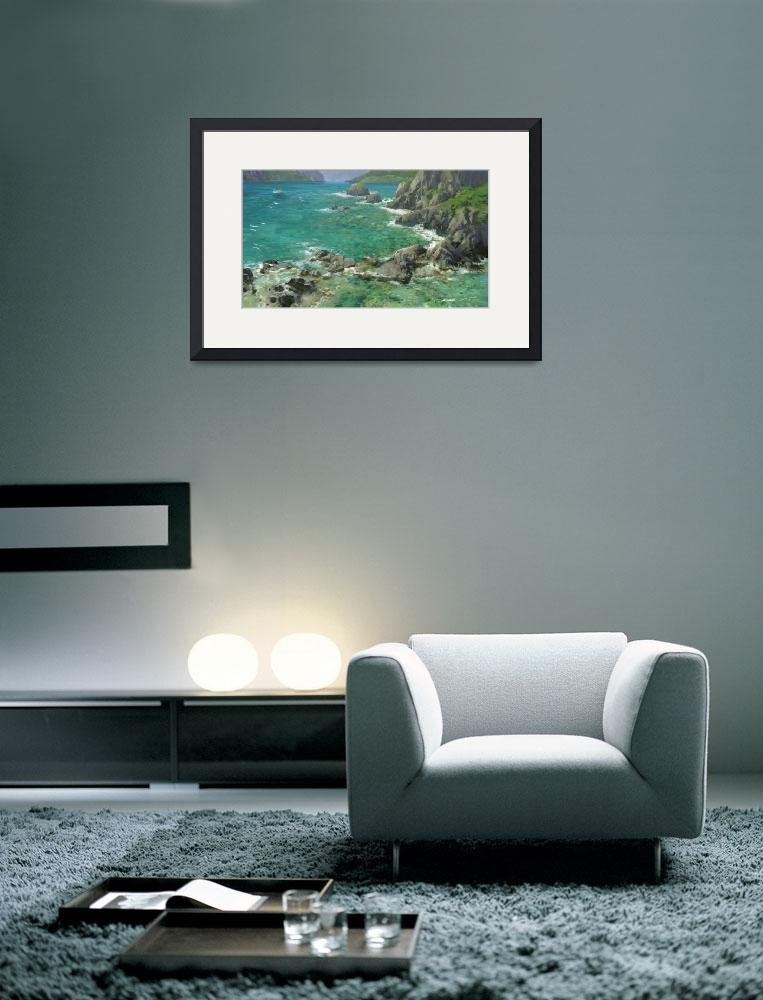 """Caribbean Shallow Cove 1&quot  (2000) by dozalart"