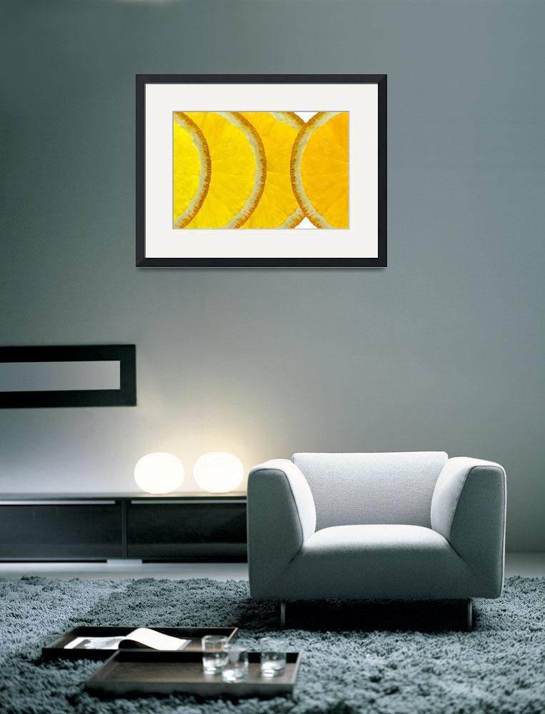 """Refreshing Orange Slices&quot  (2013) by NatalieKinnear"