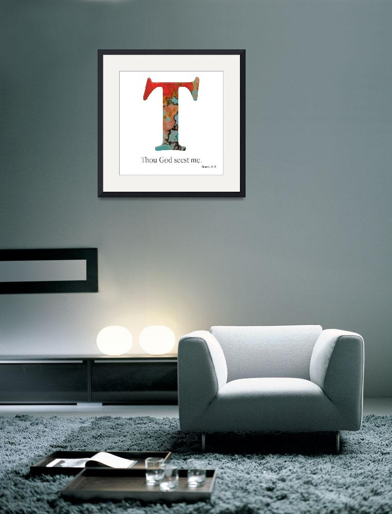 """T, the Christian Alphabet&quot  (2008) by MarkLawrence"