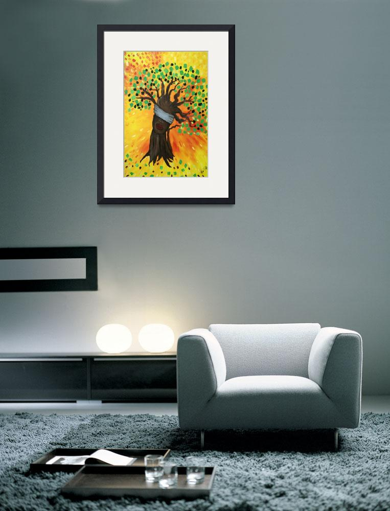 """Blind Faith-Tree of Life&quot  (2010) by blindfaithfineart"