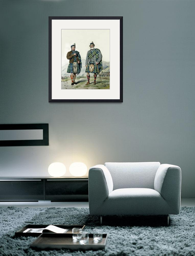 """Campbell & Campbell; Scots Highlanders (MacLeay)&quot  by DezineZone"