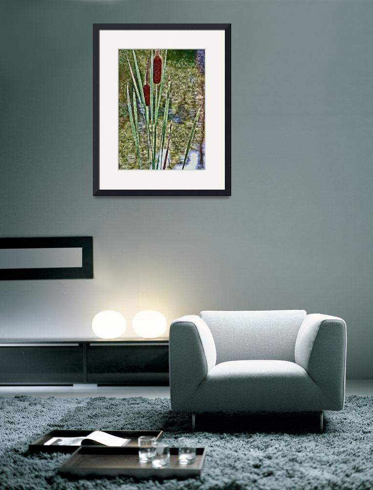 """Cattails&quot  (2011) by boppintheblues"