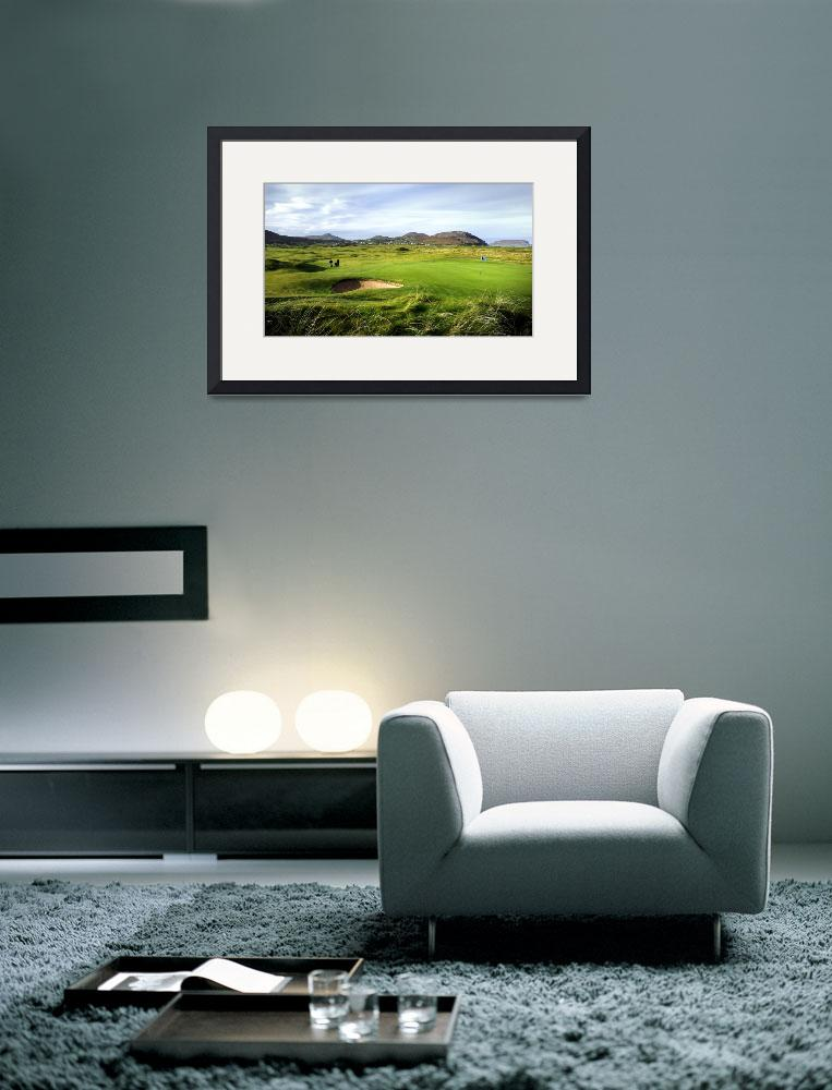 """1st Hole Ballyliffin Golf Club&quot  (2008) by gallow"