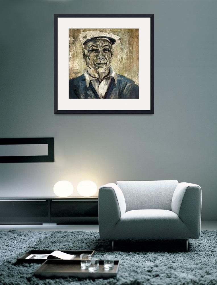 """Ben Hogan Portrait Golf Legend&quot  (2014) by GinetteCallaway"