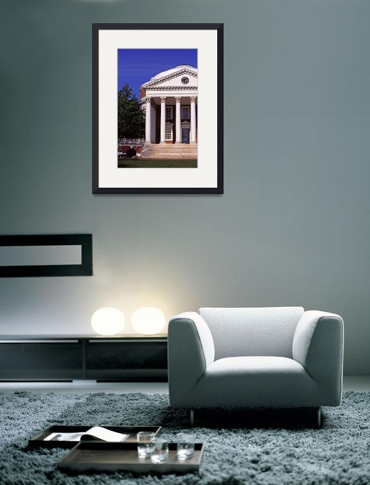 """The Rotunda, University of Virginia, UVA&quot  (1997) by fineartphoto"