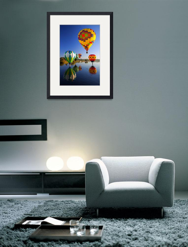"""Balloon Reflections&quot  (2010) by Dawsonimages"