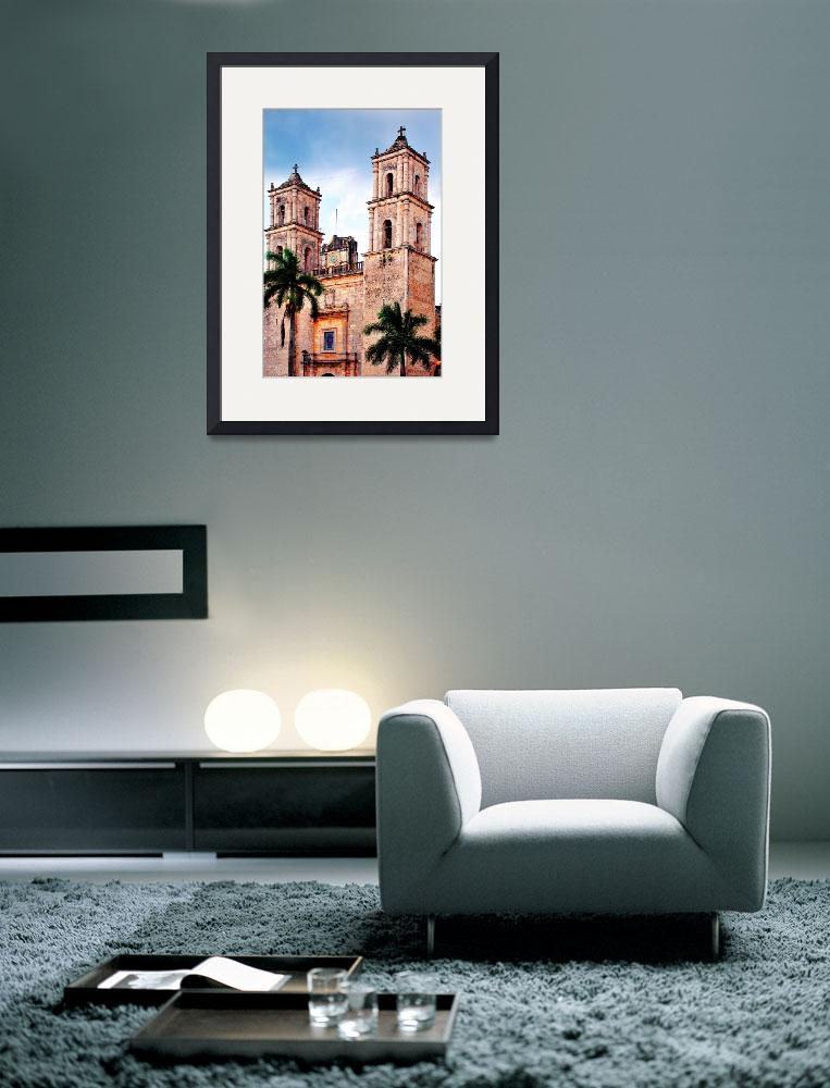 """Colonial Church in Valladolid, Mexico&quot  by PositiveImage"