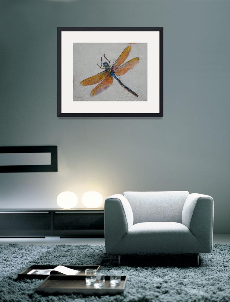 """Dragonfly&quot  by creese"