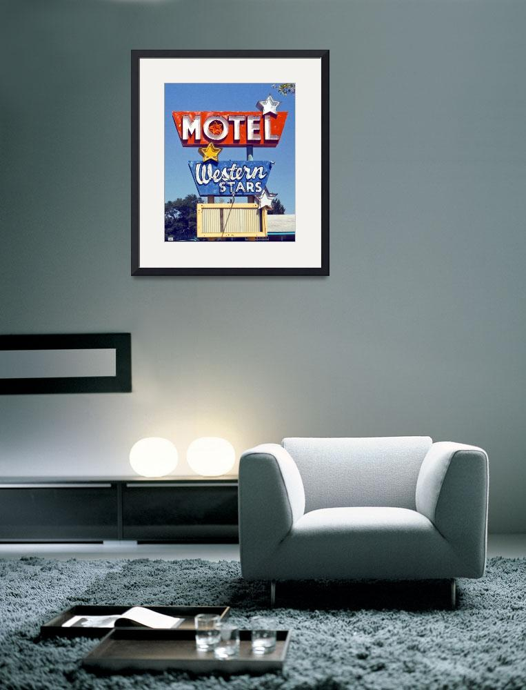 """Western Stars Motel&quot  by midcenturymodern"