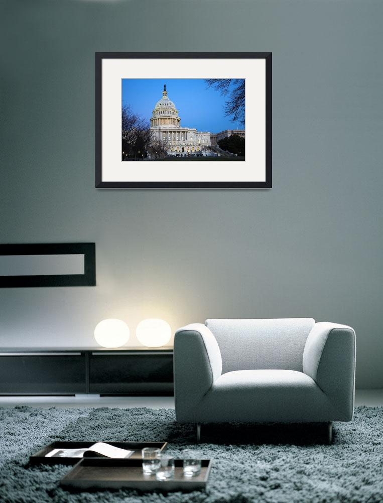 """The Capitol Building, Washington D.C.&quot  (2008) by tomharrisonphotography"