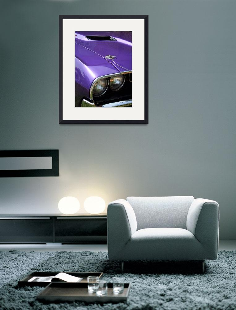 """Purple Muscle - 1970 Dodge Challenger&quot  (2011) by PurpleSkyPhoto"