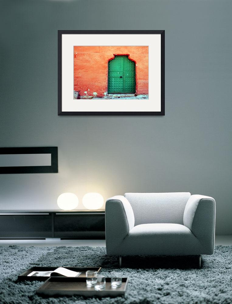 """Door In Orange&quot  (2007) by joshuaphotography"