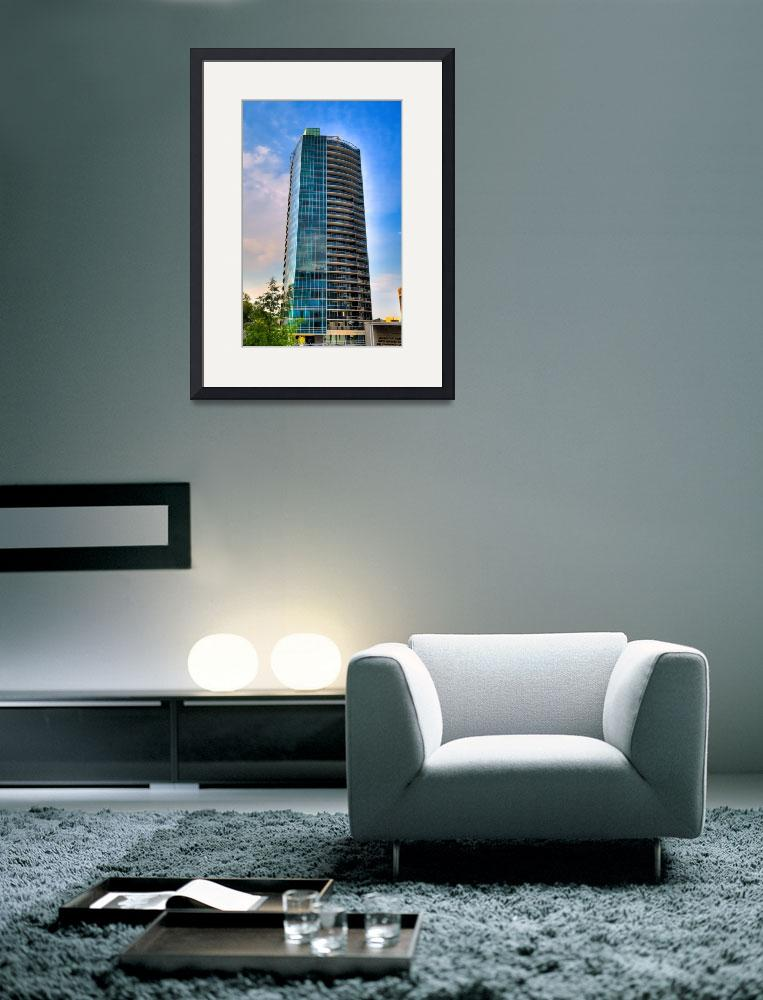 """Piece of the Rosslyn Skyline&quot  (2010) by PaulFrederiksen"
