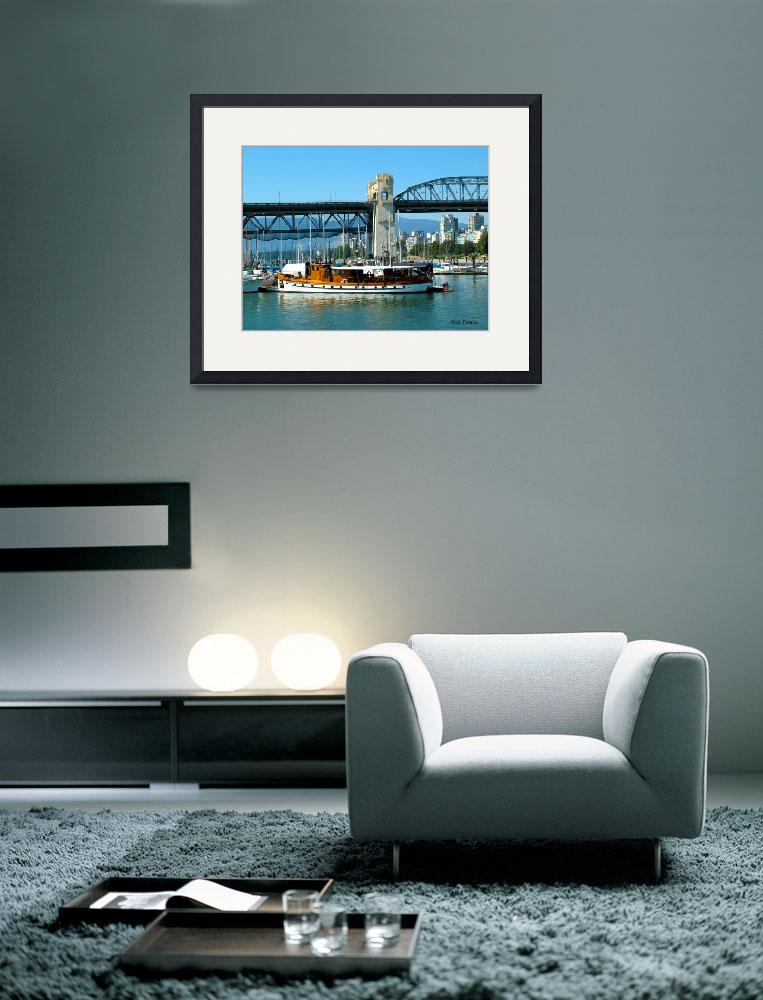 """Vancouver BC harbor&quot  (2008) by nicoindo"