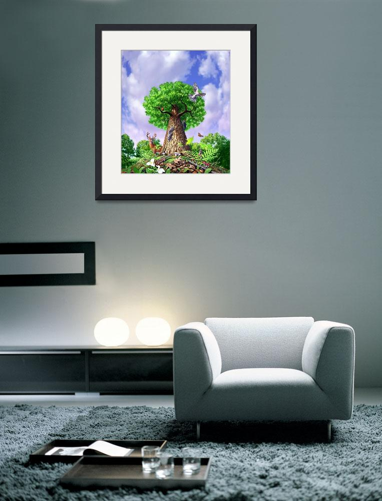 """Tree of Life&quot  (2007) by jerrylofaro59"
