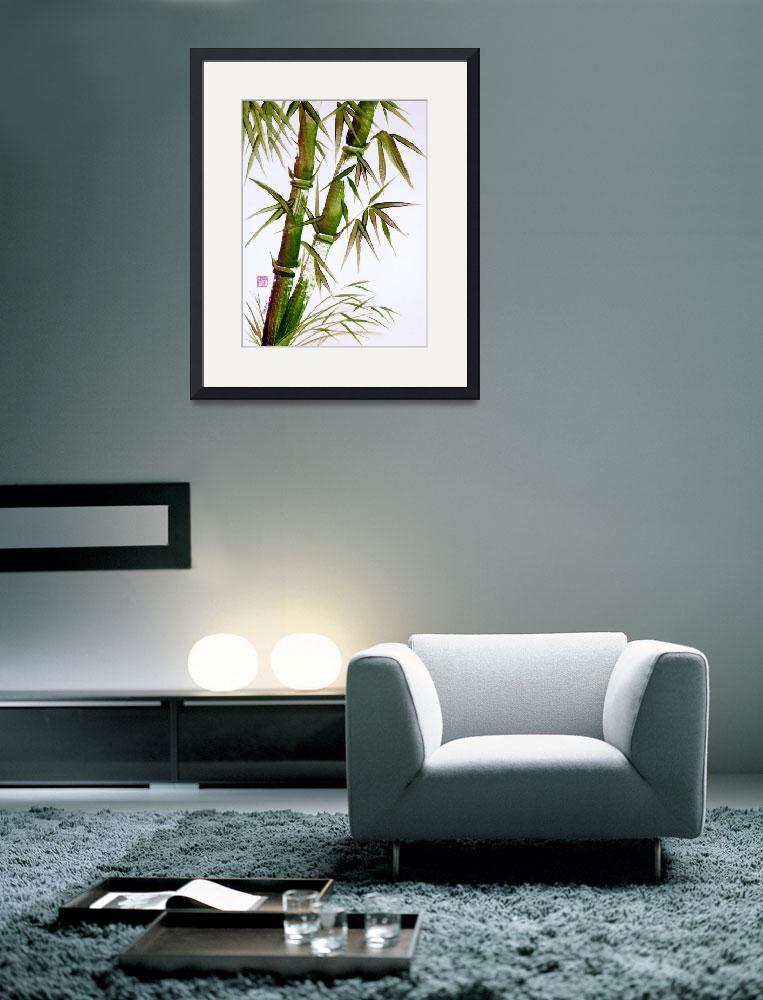 """bamboo_essence&quot  (2010) by gbensonart"