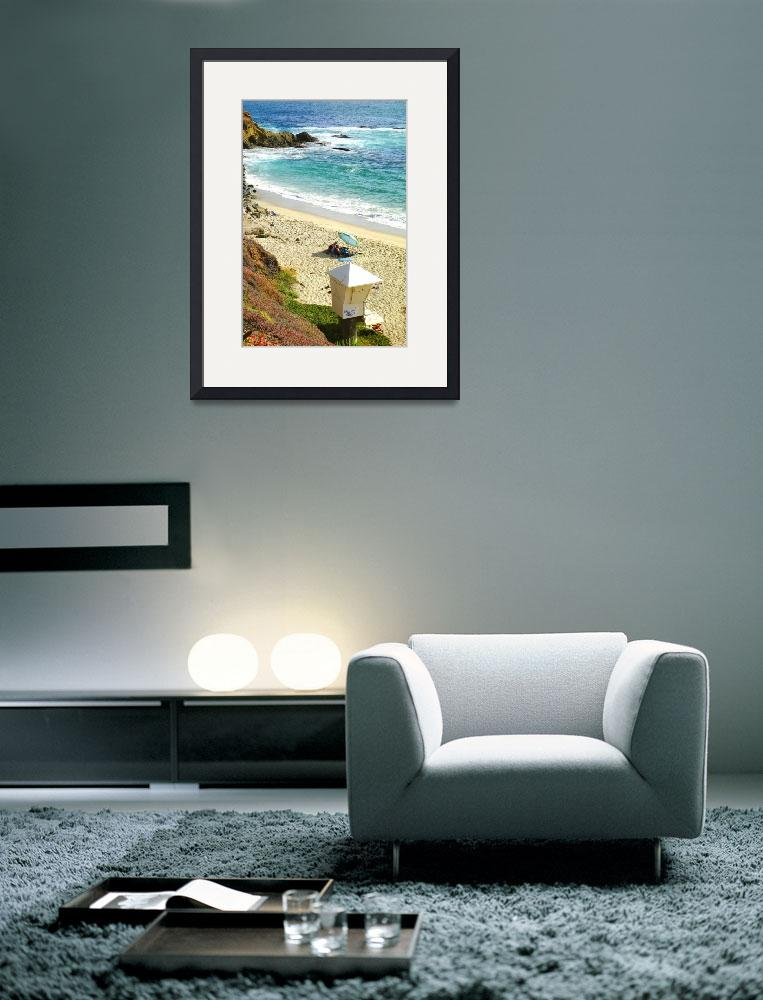 """Lazy Laguna Beach Afternoon&quot  (2015) by robertmeyerslussier"