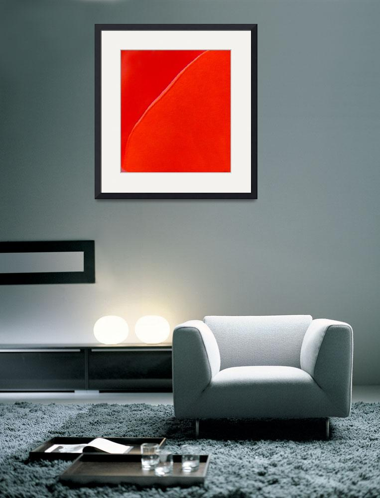 """Abstract Red&quot  (2010) by bleij50"
