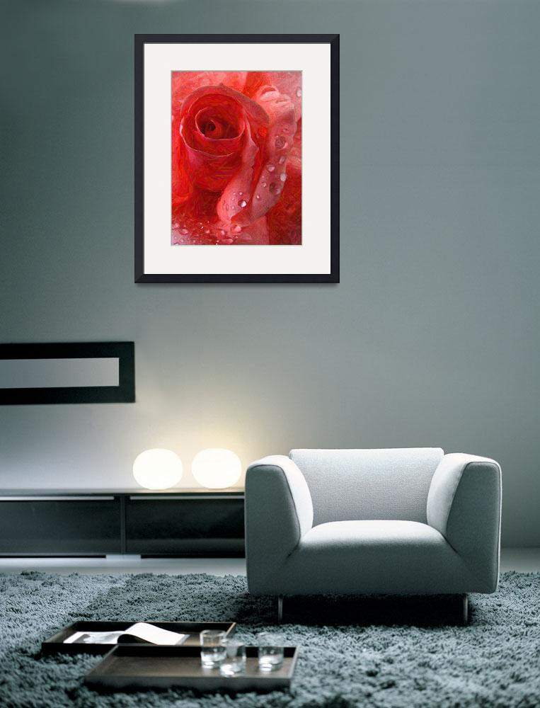 """When roses cry&quot  (2007) by garlanddunston"
