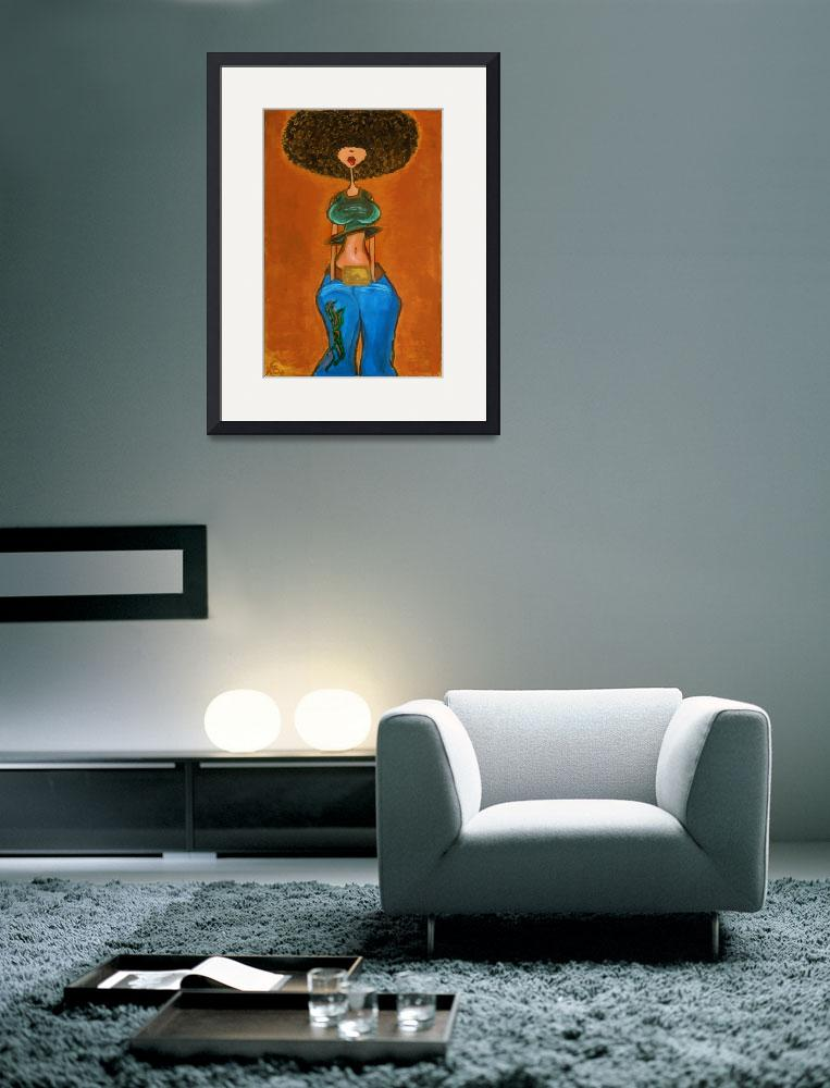 """Afro AfroCentric&quot  (2005) by Xsudez"