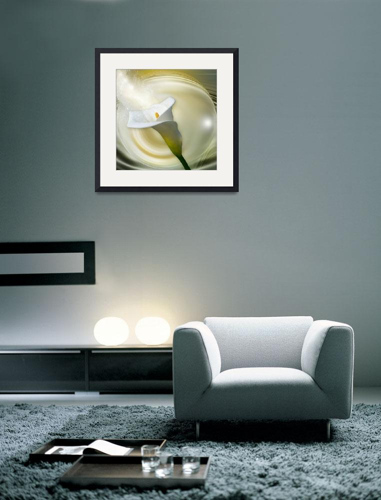 """Calla Lily&quot  (2011) by AnneVis"